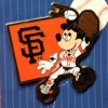 6571 - Mickey Mouse - Major League Baseball Player - SF Giants