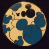 6597 - WDW Hidden Mickey 2010 - Bright Swatches - Blue & Silver