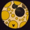 6600 - WDW Hidden Mickey 2010 - Bright Swatches - Yellow & White