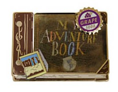 View Pin: DS com Up Pin Set - My Adventure Book ONLY