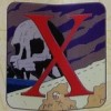 6855 - Disney Alphabet 2015 Collection - X - X Marks the Spot (Skull Island)