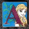 6858 - Disney Alphabet 2015 Collection - A - Anna CHASER