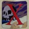 6881 - Disney Alphabet 2015 Collection - X - X Marks the Spot (Skull Island) CHASER