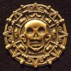 6044 - Pirates of the Caribbean Curse of the Black Pearl - Aztec Coin Replica