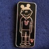 7094 - WDW - Hidden Mickey Pin Series III - Dad With Mouse Ears