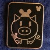 7091 - WDW - Hidden Mickey Pin Series III - Pig With Mouse Ears