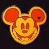 7806 - WDW HM 2009 - Colorful Mickey Heads - Orange