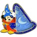 67 - Sorcerer Hat Mickey Mouse Maze Pin