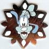 824 - DLR - 2007 Hotel Hidden Mickey Snowflake Collection - Goofy