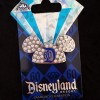 8337 - Disneyland 60th Anniversary - Jeweled Ear Hat