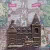 8303 - Disneyland 60th Anniversary - Locks of the Kingdom Framed Set - Main Street USA ONLY