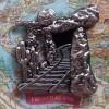 8302 - Disneyland 60th Anniversary - Locks of the Kingdom Framed Set - Frontierland ONLY