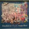 8305 - Disneyland 60th Anniversary - 60th Framed Pin Set