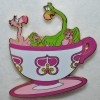 9876 - WDI - Mad Tea Party - Flamingos and Hedgehogs