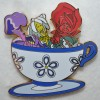 9877 - WDI - Mad Tea Party - Rose & Flowers