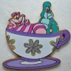 9884 - WDI - Mad Tea Party - Cheshire Cat & Caterpillar