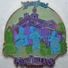 10095 - WDI - Retro Disneyland Park - New Orleans Square