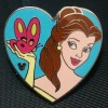 7270 - DLR/WDW - 2010 Hidden Mickey Series - Princess Hearts (Belle)