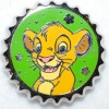 11051 - Magical Mystery Pins - Series 9 - Bottle Caps - Simba
