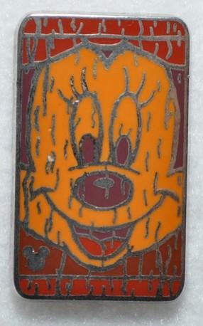 Character Tiki Faces Disney Pin Donald Duck Hidden Mickey