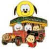 11931 - Pin Trading Fun Day 2016 - Hong Kong Disney Land Attractions - Tsum Tsum Main Street Vehicles