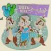 12266 - Date Night at Disneyland Park: Annual Passholder Exclusive Chipmunks Pin