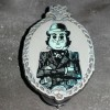 12428 - Haunted Mansion Glow In The Dark Mystery Set - Man With Bowler Hat