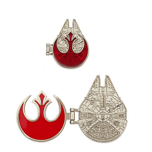 View Pin Ds Star Wars Han Solo Limited Edition Pin Set