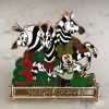12896 - WDI - Jingle Cruise - 12 Days of Christmas Mystery Collection - 3 Striped Horses