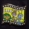 13104 - Japan - Pixar Feature Animation Collection Framed Pin Set - A Bug's Life (1998)