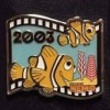 13107 - Japan - Pixar Feature Animation Collection Framed Pin Set - Finding Nemo (2003)