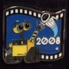 13111 - Japan - Pixar Feature Animation Collection Framed Pin Set - Wall-E (2008)