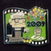 13112 - Japan - Pixar Feature Animation Collection Framed Pin Set - Up (2009)