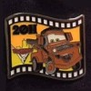 13114 - Japan - Pixar Feature Animation Collection Framed Pin Set - Cars 2 (2011)