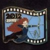 13115 - Japan - Pixar Feature Animation Collection Framed Pin Set - Brave (2012)
