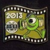 13116 - Japan - Pixar Feature Animation Collection Framed Pin Set - Monsters University (2013)