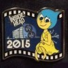 13117 - Japan - Pixar Feature Animation Collection Framed Pin Set - Inside Out/Inside Head (2015)