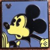 6634 - WDW Hidden Mickey 2010 - Neon Mickey - Purple