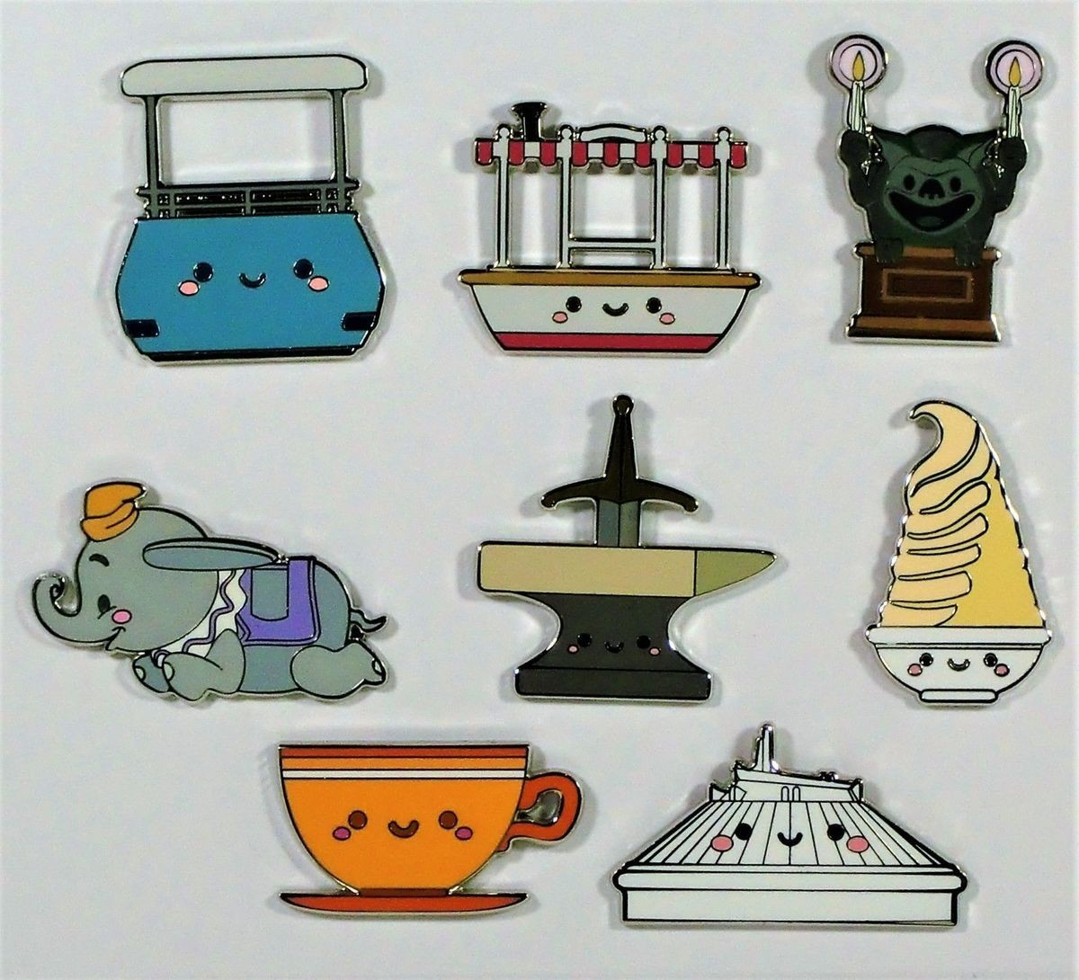 View Pin: Kingdom of Cute Mystery Collection - Full Set