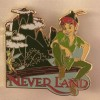 14361 - WDW – Love is an Adventure 2017 – Love Can Go the Distance - Scavenger Hunt Pin Set - Neverland