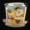14392 - WDW – Love is an Adventure 2017 – Love is Quotable Five Pin Box Set - Dug and Russell ONLY