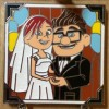 14428 - WDW – Love is an Adventure 2017 – Carl and Ellie Through the Years Six Pin Box Set - Our Wedding Day