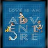14433 - WDW – Love is an Adventure 2017 – Building Our Adventure Four Pin Frame Set