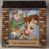 15024 - WDW - Pixar Party 2016 - Pixar Movie Quotes 5-pin Box Set - Toy Story ONLY