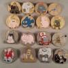15046 - WDW – Pixar Party 2016 – John Ratzenberger Mystery Set – WDW – Pixar Party 2016 – John Ratzenberger Mystery Set – Complete Set of 16 pins