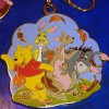 15361 - Pooh and Friends Standing in the Wind Lanyard Medal & Pin (Medal only)