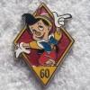 8941 - DLR 60th Diamond Celebration Pack - Pinocchio ONLY