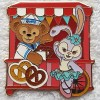 16208 - Pin Trading Carnival 2018 Lanyard Set - Duffy and Stella Lou red only