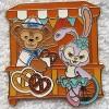 16209 - Pin Trading Carnival 2018 Lanyard Set - Duffy and Stella Lou orange only