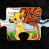 1666 - Character Connection Mystery Collection - Lion King Puzzle - Simba ONLY